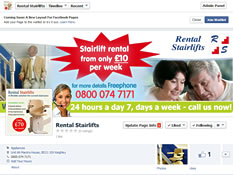 rental stairlifts facebook page